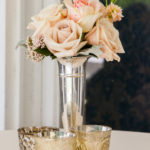 Blush Cocktail Table Centerpiece