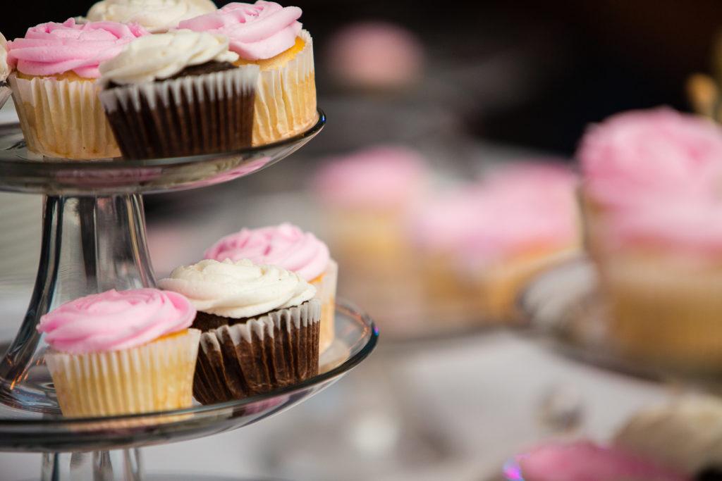 Blush Wedding Cupcakes