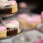 Blush Wedding Cupcakes